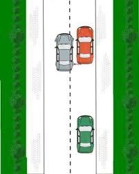 File parkeren achteruit 1