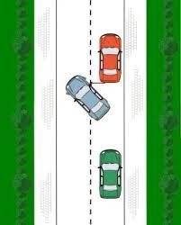 File parkeren achteruit 2