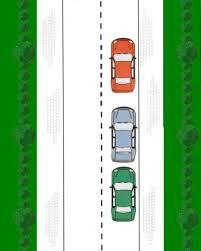 File parkeren achteruit 3